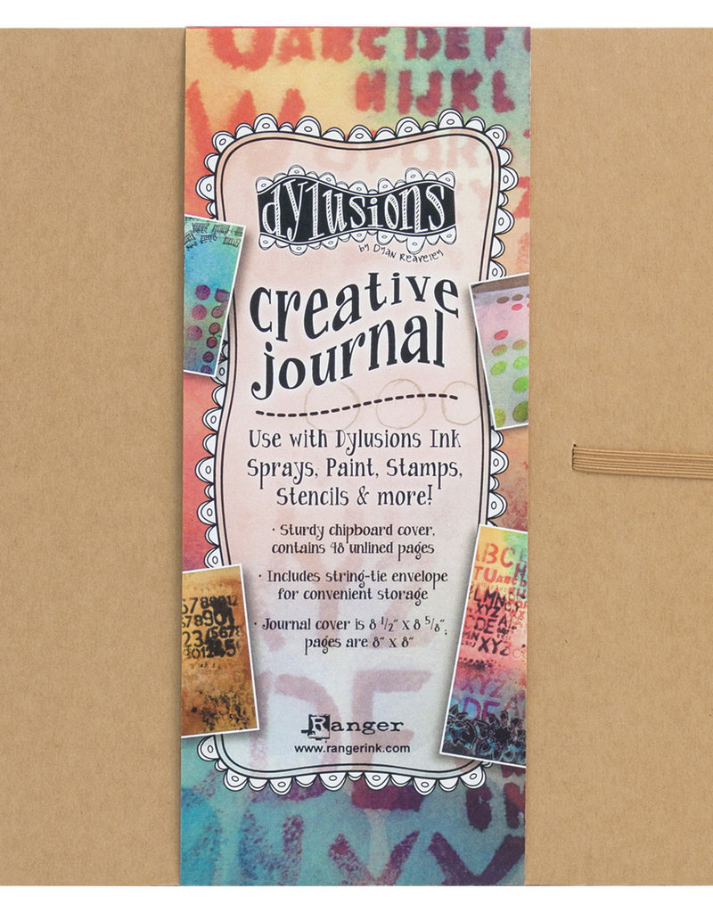 Dylusions Dylusions Creative Journal Square Media Cardstock