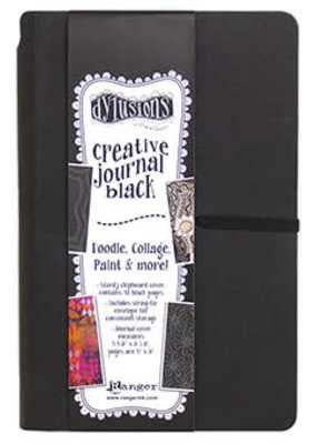 Ranger Dylusions Creative Journal Small Black