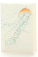 Ilee papergoods Card Jellyfish Happy Birthday
