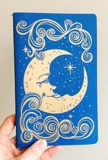 The Rainbow Vision Notebook Moon