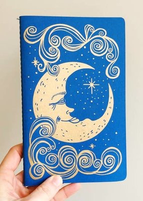 The Rainbow Vision Notebook Moon