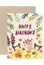 Little Truths Studio Card Garden Party Birthday