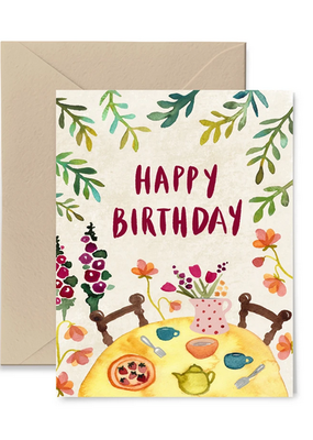 Little Truths Studio Card Garden Party Birthday