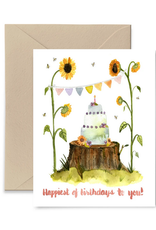 Little Truths Studio Card Sunflower Birthday