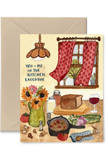 Little Truths Studio Card Kitchen Laughing