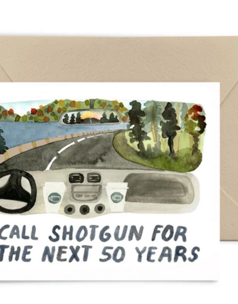 Little Truths Studio Card I Call Shotgun