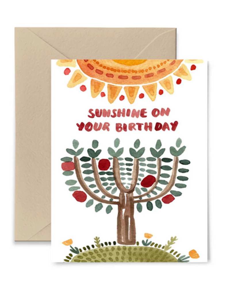 Little Truths Studio Card Sunshine On Your Birthday