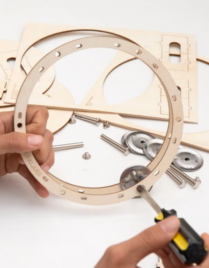 Kikkerland DIY Tambourine