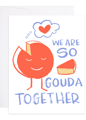 9th Letter Press Card Gouda