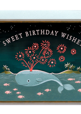 joo joo paper Card Whale Birthday