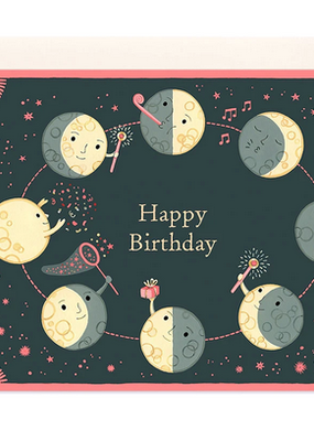 joo joo paper Card Moon Phases Birthday