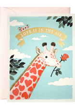 joo joo paper Card Pink Giraffe