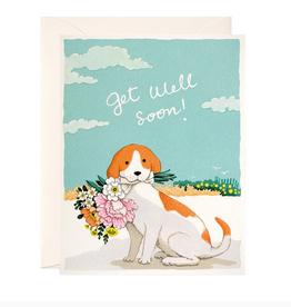 joo joo paper Card Get Well Soon