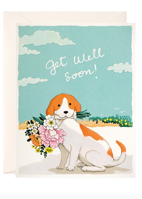 joo joo paper Card Get Well Soon