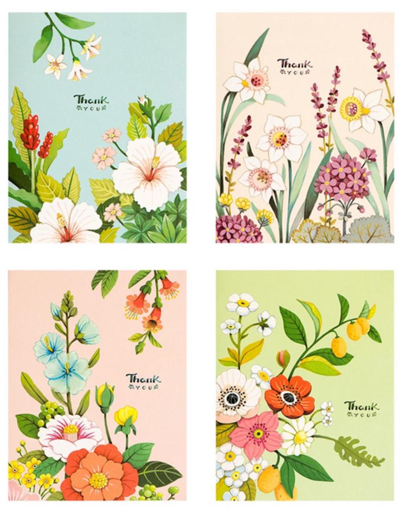 joo joo paper Boxed Cards Pastel Botanical