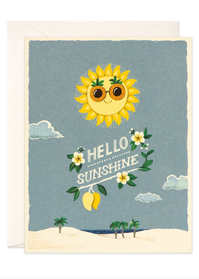 joo joo paper Card Hello Sunshine