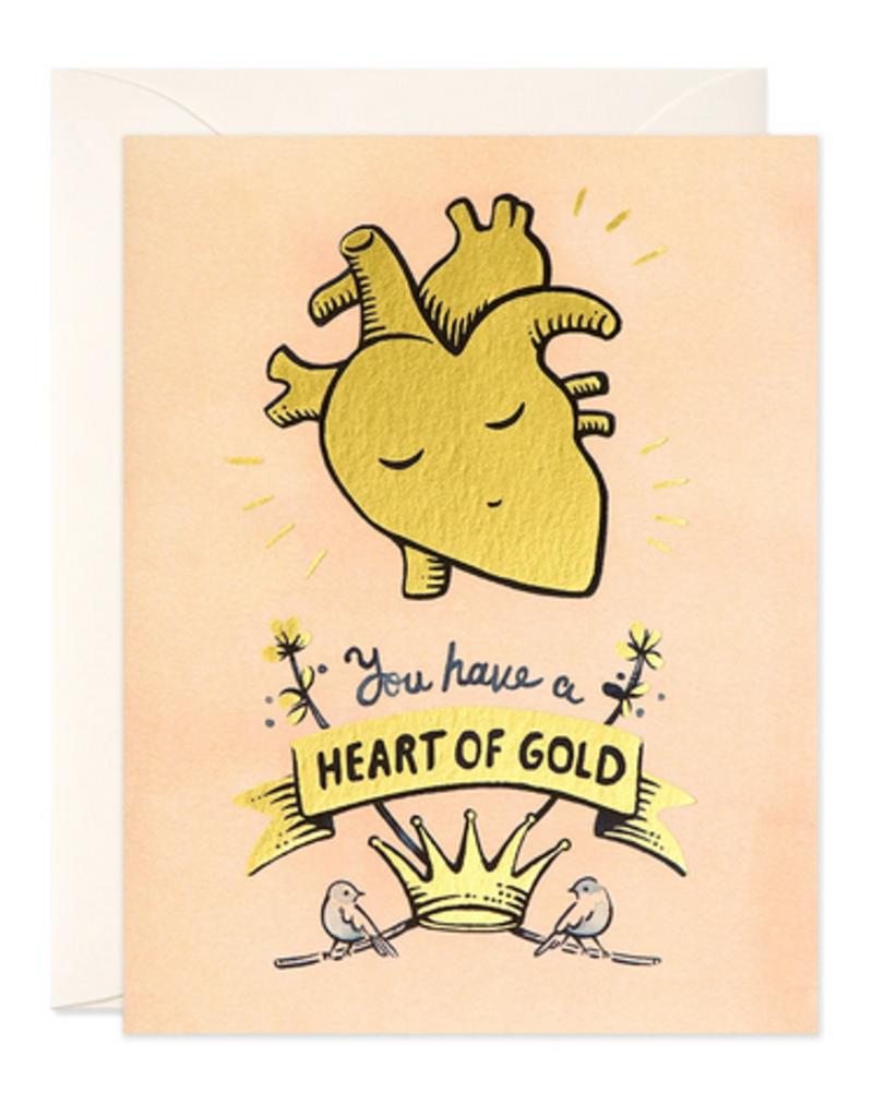 joo joo paper Card Heart of Gold