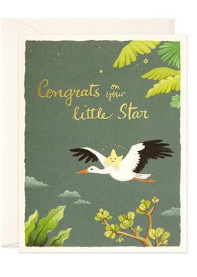 joo joo paper Card Baby Star