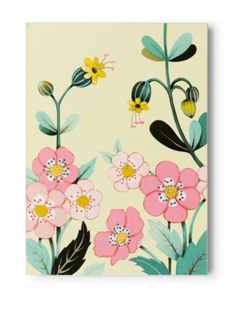 joo joo paper Pocket Notepad Yellow Floral