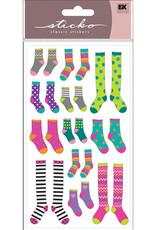 EK Sticker Crazy Socks