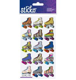 Sticko Stickers Bright Roller Skates