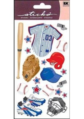 EK Sticker Baseball Gear