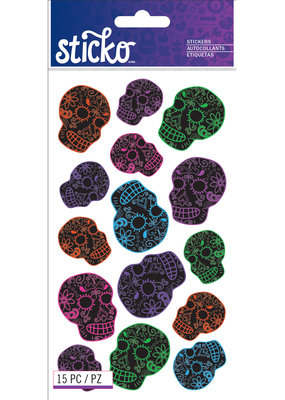 EK Sticker Scatter Skulls