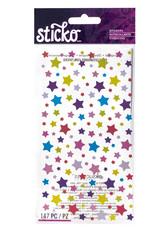 EK Sticker Metallic Shimmery Stars