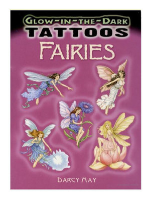 Dover Tattoos Glow-in-the-Dark Fairies