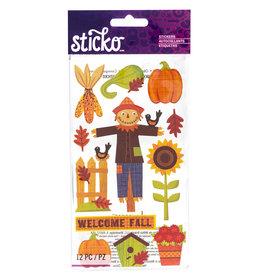 EK Sticker Welcome Fall