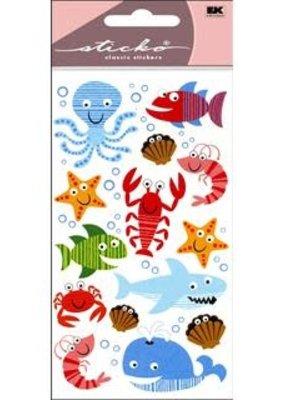 Sticko Stickers Sea Life Fun