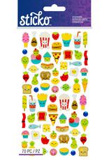 Sticko Stickers Mini Food Characters