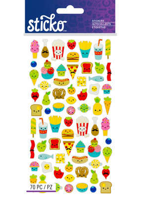 EK Sticker Mini Food Characters