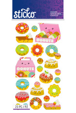 Sticko Stickers Donut Characters