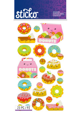 EK Sticker Donut Characters