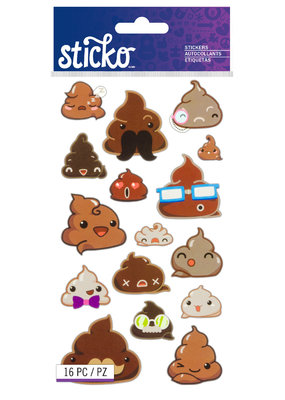 Sticko Stickers Funny Frosting