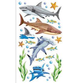 Sticko Stickers Sharks
