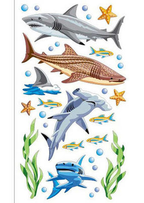 EK Sticker Sharks