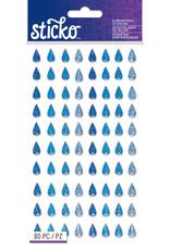 EK Sticker Sparkler Raindrops
