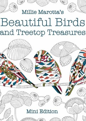 Sterling Millie Marotta's Beautiful Birds and Treetop Treasures - Mini Edition
