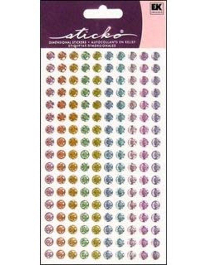 EK Sticker Sparkler Dots Pastels