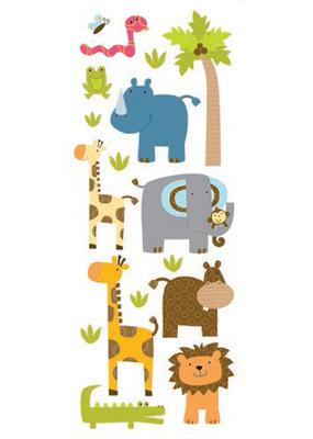 Sticko Stickers Puffy Zoo Friends