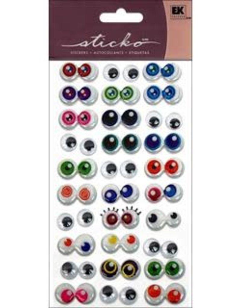 EK Sticker 3D Googly Eyes