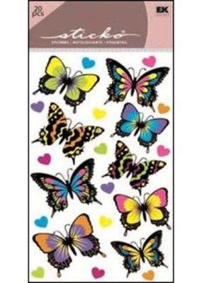 Sticko Stickers Dancing Butterflies