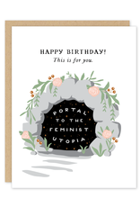 Party of One Card Birthday Portal