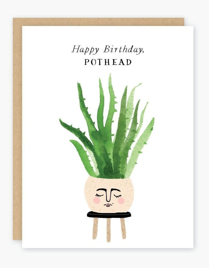 Party of One Card Pot Head Birthday