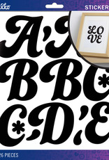EK Sticker Alpha FunkyDori XL Black