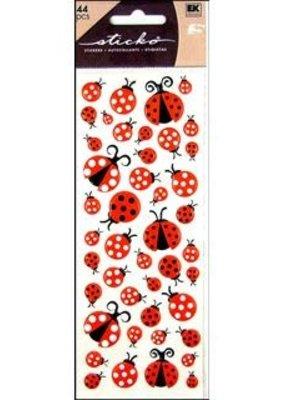 Sticko Stickers Puffy Ladybugs