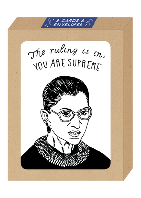 Party of One Card Boxed Set Ruth Bader Ginsburg