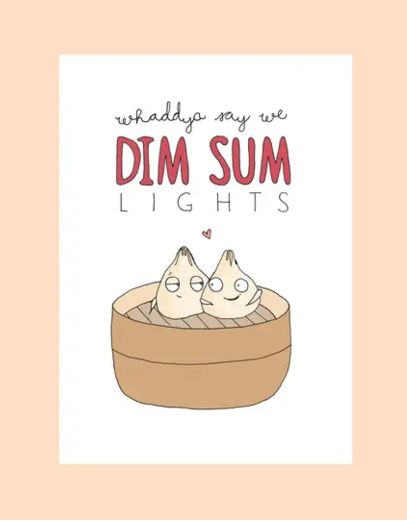 FINEASSLINES Card Dim Sum Lights